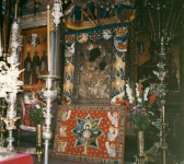 Embroidered surround for the Portaitissa icon
