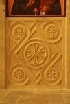 Iconostasis panel, Bath stone