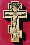Blessing Crosses Crucifix Cherry wood