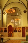 Lighting at St Nicholas Russian Orthodox Church, Amsterdam