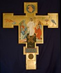 Double-sided processional cross.