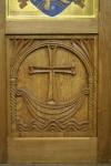 Iconostasis panel. Oak.