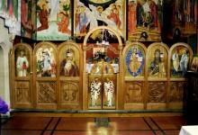 Iconostasis. Oak