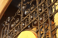 Wrought Iron Screen, St Michaels and All Angels, Bedford Park, London