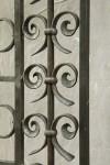 Wrought iron screen (detail)