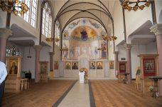 Masterplan for St Nicholas Russian Orthodox Church, Amsterdam.